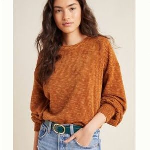 Anthropologie pullover sweater top